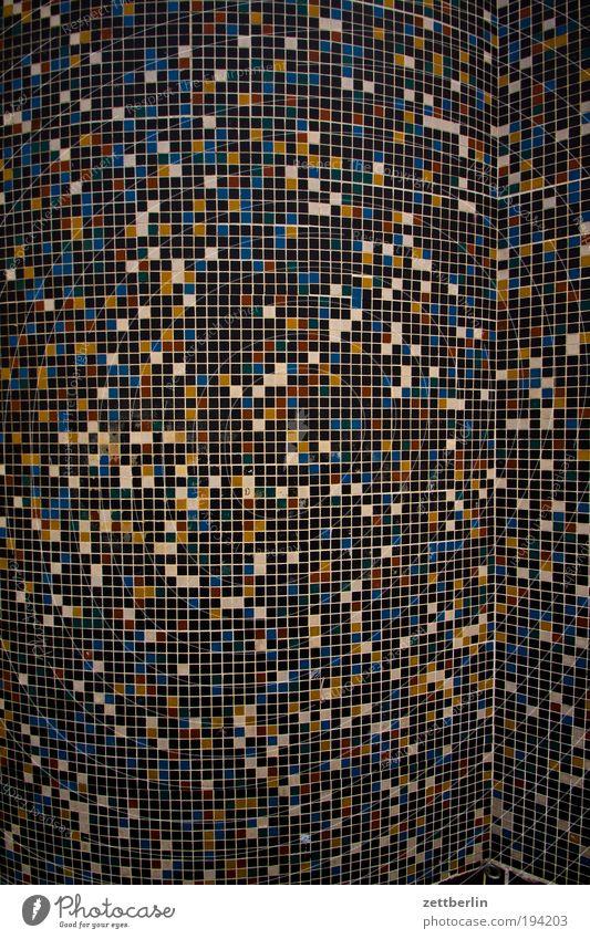 170000 Architektur Hintergrundbild rund Säule Oberfläche Raster kariert Isolierung (Material) Muster Fuge eckig Mosaik Strukturen & Formen Wölbung