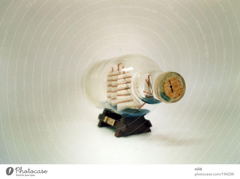 Analoger Studiokitsch Ferien & Urlaub & Reisen Freiheit Glas geschlossen Sicherheit Wasserfahrzeug Kitsch Dekoration & Verzierung analog Reichtum Schifffahrt