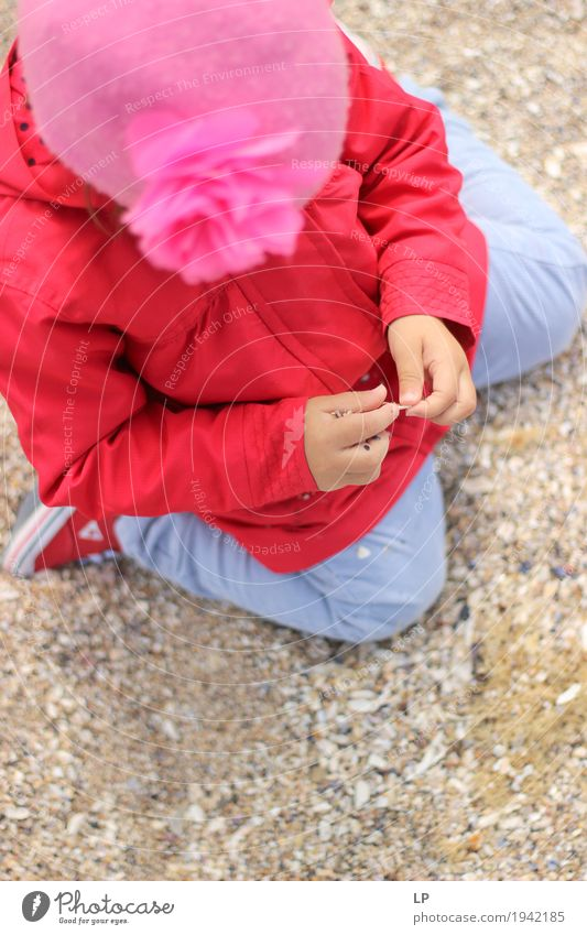 Mensch Kind Jugendliche Erholung ruhig Erwachsene Leben Familie & Verwandtschaft Spielen Schule Sand Freizeit & Hobby Kindheit Baby Neugier entdecken