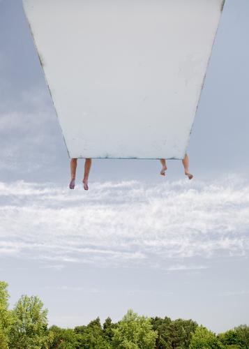 companions Freude Wohlgefühl Erholung ruhig Freizeit & Hobby Ferien & Urlaub & Reisen Wassersport Schwimmbad Sprungbrett Familie & Verwandtschaft Freundschaft