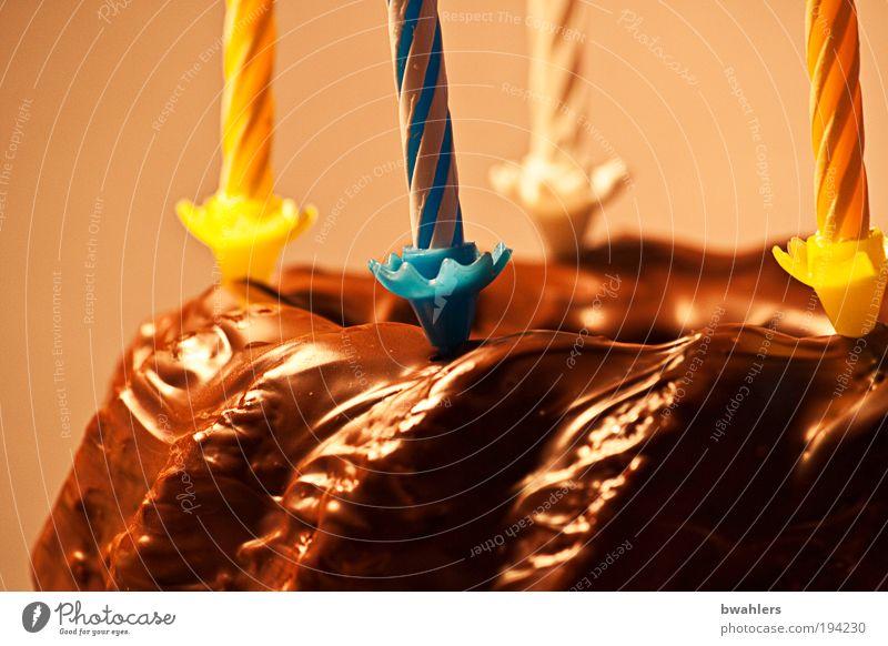Geburtstagskuchen Freude Feste & Feiern Lebensmittel Fröhlichkeit Ernährung Dekoration & Verzierung süß Wunsch Kerze genießen Süßwaren Kuchen Schokolade