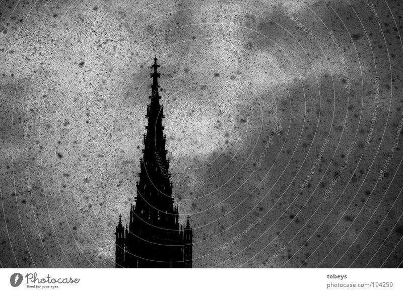 Plage Schnee Architektur Religion & Glaube Gebäude Schneefall Stimmung Wetter Eis Klima Kirche Turm Frost Bauwerk Sturm Burg oder Schloss Denkmal