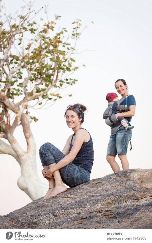Mutter & Kind #3 Mensch Natur Ferien & Urlaub & Reisen Jugendliche Landschaft Erholung 18-30 Jahre Erwachsene Leben Lifestyle feminin Junge