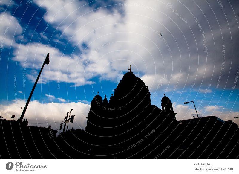 Berliner Dom Himmel Wolken dunkel Religion & Glaube Kirche Mitte Laterne Berlin-Mitte Stadtzentrum Hauptstadt Christentum Kuppeldach Schlossplatz Lustgarten