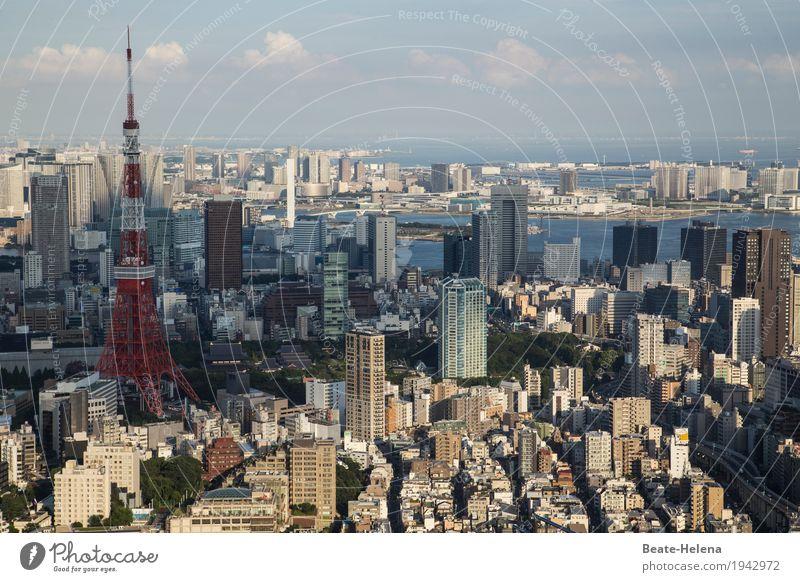 Fernweh   Japan ruft mit seinen Geheimnissen Technik & Technologie Wissenschaften Fortschritt Zukunft Tokyo Asien Hauptstadt Hafenstadt Stadtzentrum Skyline