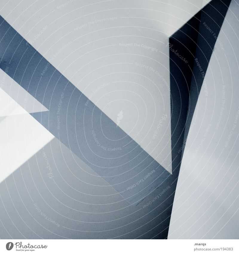 7 blau schön Architektur Stil Linie Innenarchitektur Hintergrundbild elegant Design modern außergewöhnlich ästhetisch neu Lifestyle Coolness einzigartig