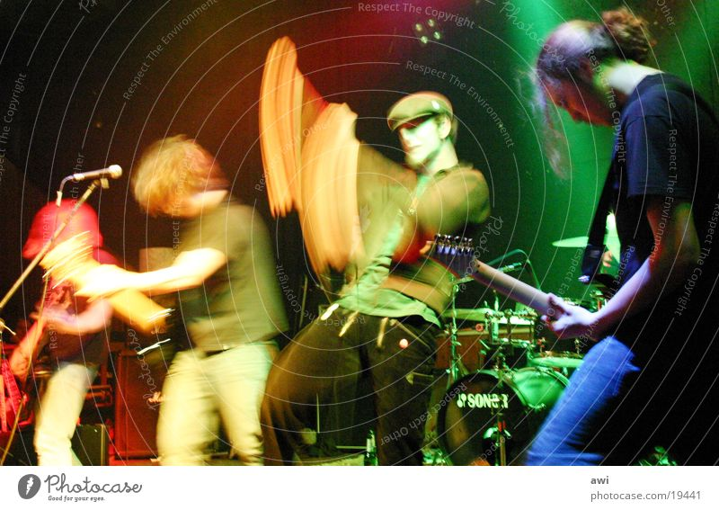 Let's punk Band Musik Aktion Konzert Schnur Punk Musiker Rockband Emo-Punk