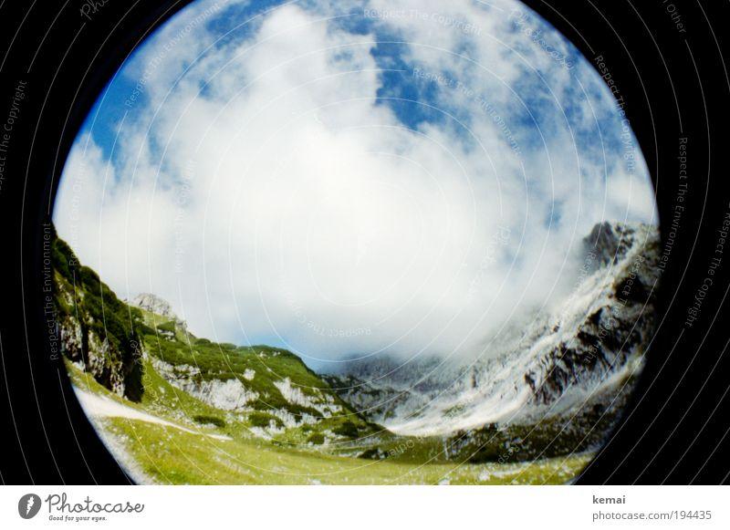 {50} Bergwelt Natur Himmel weiß grün blau Pflanze Sommer Wolken Gras Berge u. Gebirge Frühling Freiheit Landschaft Umwelt Felsen Erde