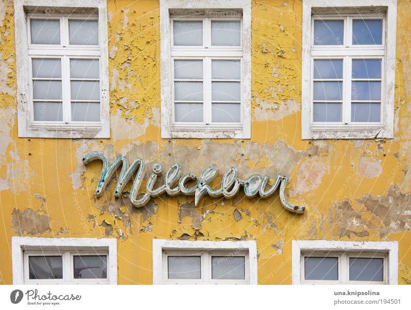 busen Haus Fenster Wand Mauer Gebäude Lebensmittel Fassade Freizeit & Hobby Schriftzeichen Ernährung Ausflug Getränk retro trinken Bar trendy