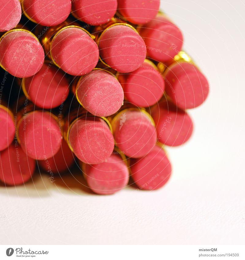 Ratscherfummel. Stil Kunst rosa Design ästhetisch viele malen Grafik u. Illustration Kreativität Idee Schreibtisch zeichnen Schreibstift Kindergarten Stapel