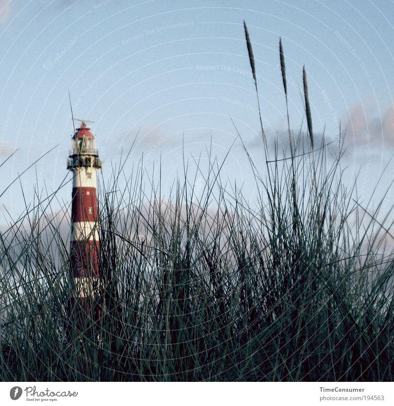 Mein kleiner großer Bruder Natur Sommer ruhig Zufriedenheit Stimmung Ausflug Insel Wahrzeichen Leuchtturm Fernweh Sightseeing Sehenswürdigkeit Sommerurlaub