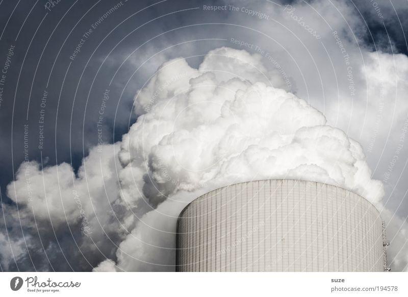 Kühlschrank Fabrik Wirtschaft Industrie Energiewirtschaft Erneuerbare Energie Kernkraftwerk Kohlekraftwerk Energiekrise Umwelt Wolken Klima Klimawandel Wetter