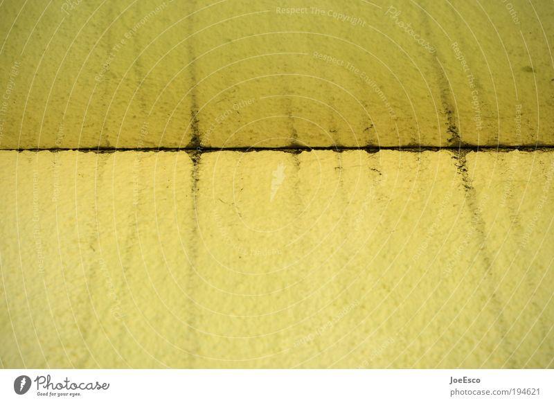 spieglein spieglein... gelb Stil Linie dreckig Design Ecke Am Rand
