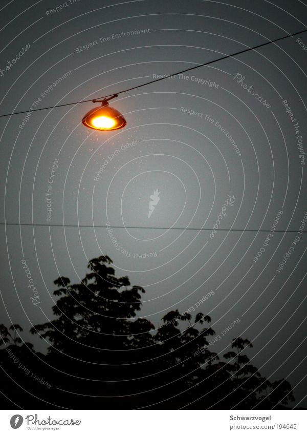 UFO (@budgetlimitierter Tricktechnik) Wassertropfen Himmel schlechtes Wetter Regen Glas Metall glänzend hängen leuchten schaukeln Freundlichkeit hoch oben rund