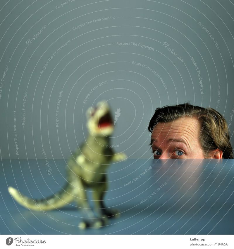 jurassic park Mensch maskulin Haare & Frisuren Gesicht Auge Ohr 1 30-45 Jahre Erwachsene Tier Schuppen Krallen Pfote Zoo Streichelzoo Tierjunges Blick stark