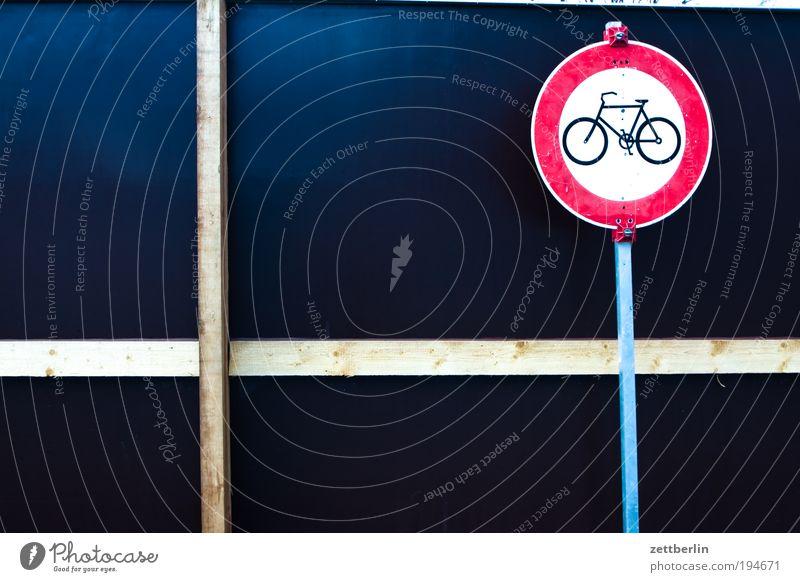 Fahrrad verboten