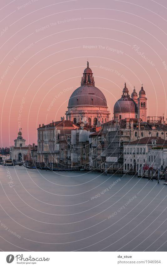 Venedig - Santa Maria della Salute Ferien & Urlaub & Reisen Tourismus Ausflug Ferne Sightseeing Städtereise Sommerurlaub Winterurlaub Museum Architektur