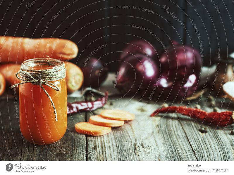 Natur alt Gesunde Ernährung rot schwarz natürlich Holz Lebensmittel Gesundheitswesen grau orange frisch Glas Tisch Seil Kräuter & Gewürze
