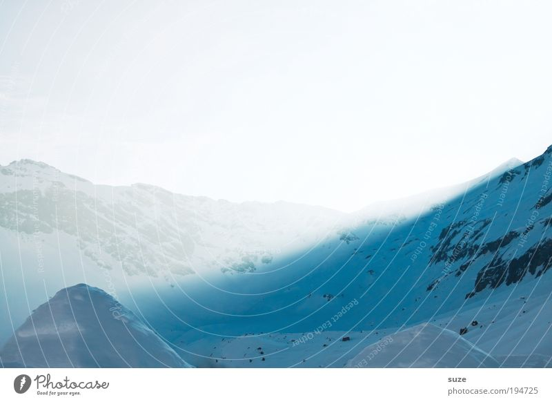 Schneekoppe Himmel Natur blau schön weiß Pflanze Winter Landschaft Berge u. Gebirge kalt Horizont Stimmung Eis außergewöhnlich leuchten