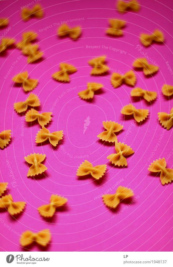Pasta-Bögen Lifestyle Lebensmittel Design rosa Freizeit & Hobby Ernährung Kreativität Grafik u. Illustration Neugier kochen & garen Team Gastronomie Bioprodukte