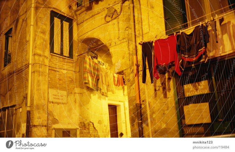 Absolut Italy Wand Fenster Europa Italien Wäsche