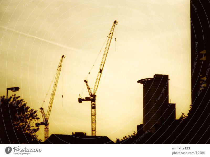 Baustelle in Frankfurt Architektur Baustelle Produktion