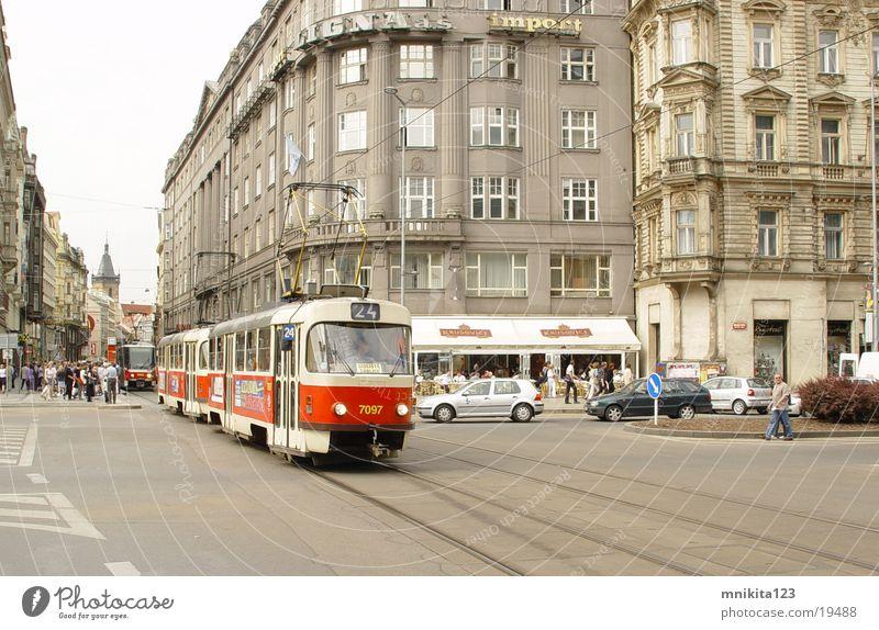 Strassenbahn Straßenbahn Prag