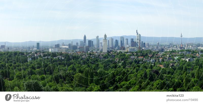 Frankfurt - Big Panorama Frankfurt am Main Panorama (Aussicht) Europa groß Panorama (Bildformat)