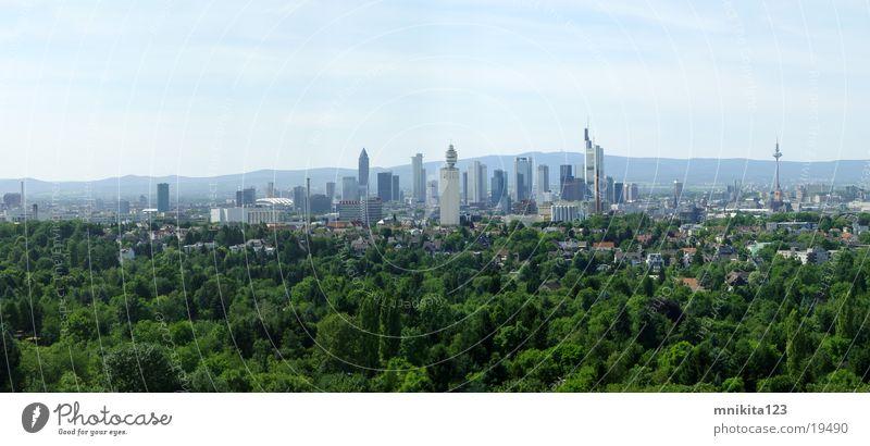 Frankfurt - Big Panorama groß Europa Frankfurt am Main Panorama (Bildformat)