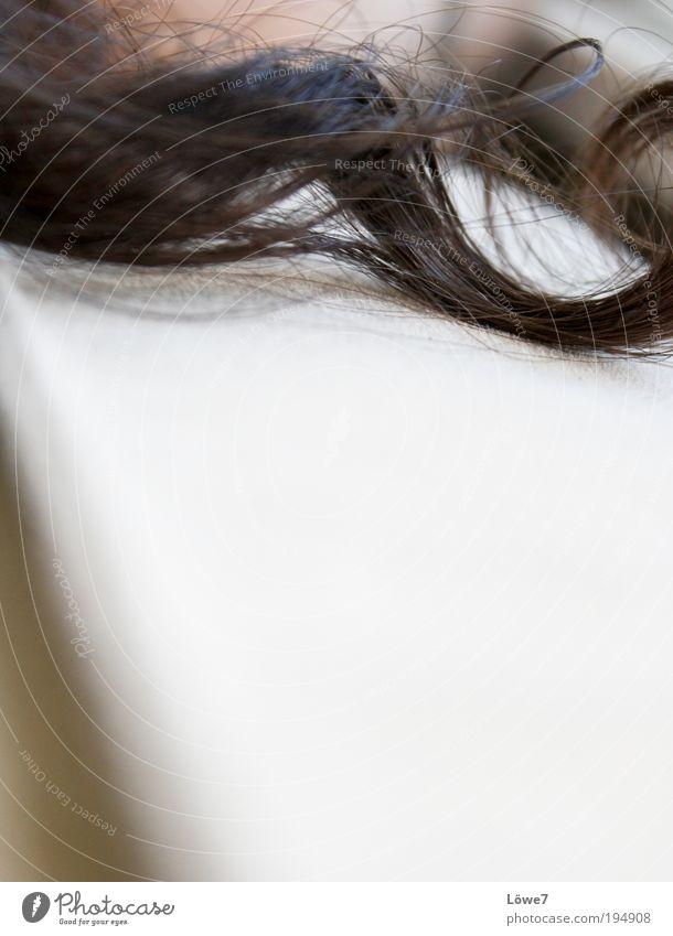 Haar, locke dich... schön Erholung Haare & Frisuren Zufriedenheit glänzend elegant natürlich authentisch berühren Locken drehen brünett Duft Wohlgefühl