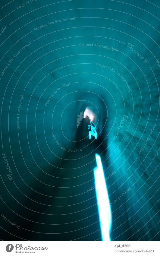 zoooom blau grün Ferien & Urlaub & Reisen Ferne Freiheit Gebäude Kraft gehen ästhetisch Geschwindigkeit Bauwerk Flüssigkeit Tor Club Mut Tunnel