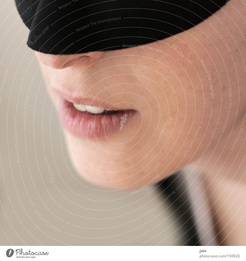 devovere Mensch Frau Gesicht Erwachsene feminin Glück Kopf ästhetisch Haut warten genießen Mund Nase Zähne Lippen Vertrauen