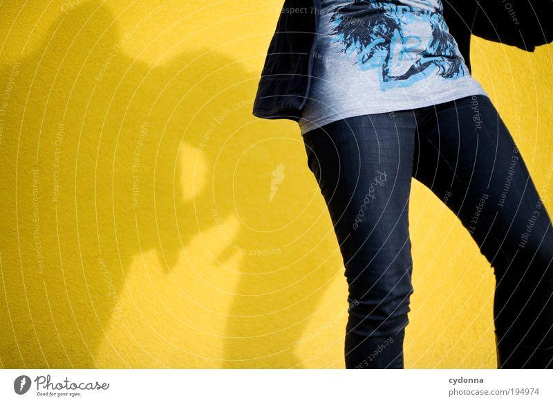 Happy together Lifestyle Stil Design Freude Glück Leben Wohlgefühl Zufriedenheit Freizeit & Hobby Freiheit Party Mensch Beine Mode Jeanshose Bewegung Idee