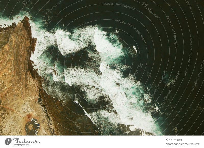 Eyes over Africa Ferne Freiheit Sommer Strand Luftverkehr Umwelt Natur Landschaft Pflanze Urelemente Erde Sand Wetter Wellen Küste Meer Atlantik außergewöhnlich