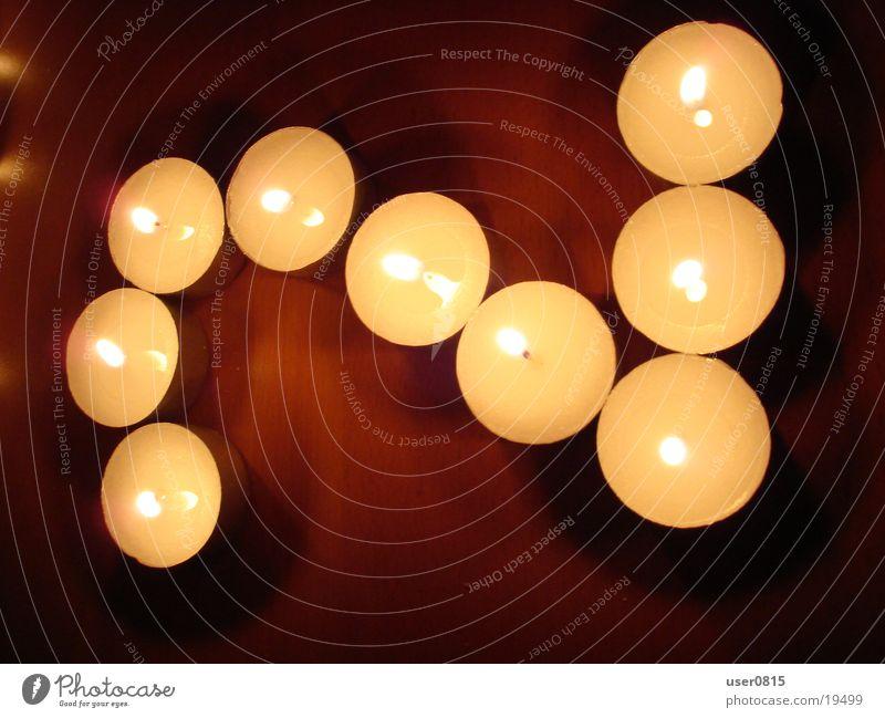 Zwei 2 Kerze Ziffern & Zahlen Häusliches Leben Teelicht