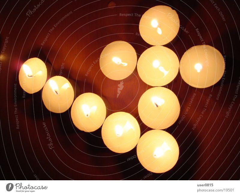 Vier Kerze Ziffern & Zahlen Häusliches Leben 4 Teelicht