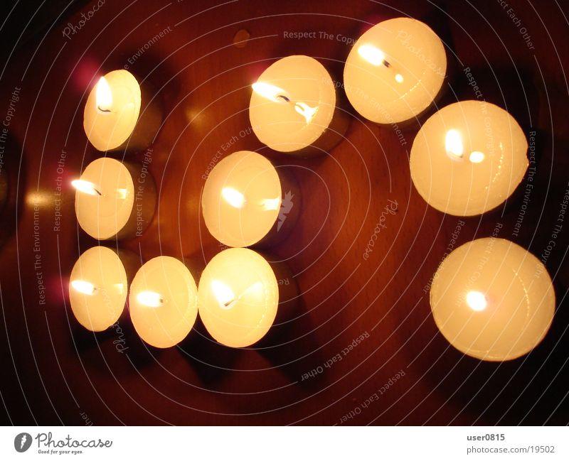 Fünf Kerze Küche Ziffern & Zahlen 5 Teelicht