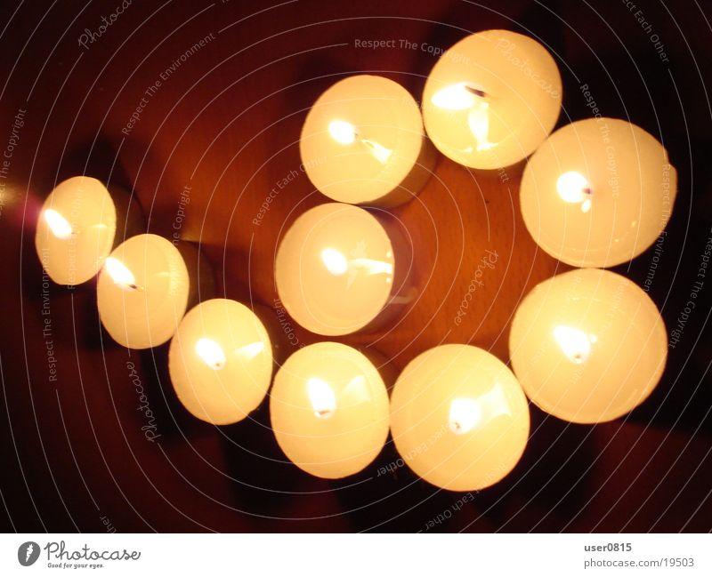Sechs Kerze Teelicht 6 Ziffern & Zahlen Küche