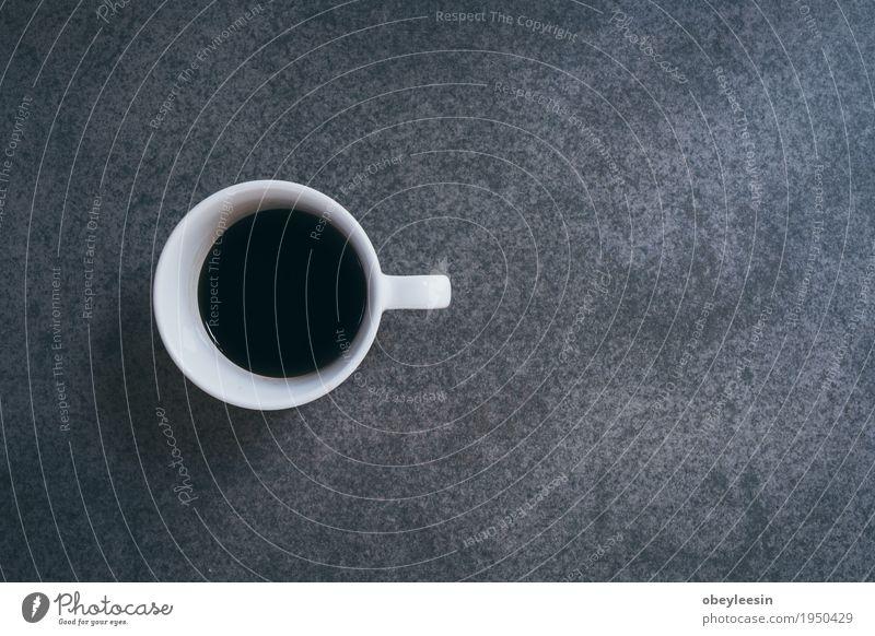 Tasse Kaffee auf alten Schreibtisch Lifestyle Stil Kunst Design Arbeit & Erwerbstätigkeit Künstler Kunstwerk