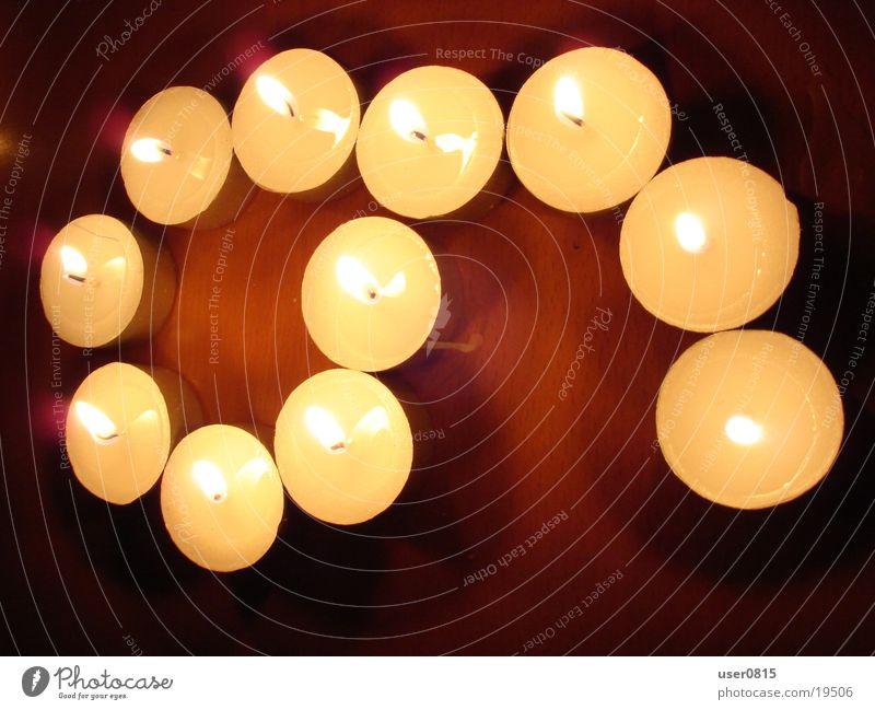 Neun Kerze Teelicht 9 Ziffern & Zahlen Häusliches Leben