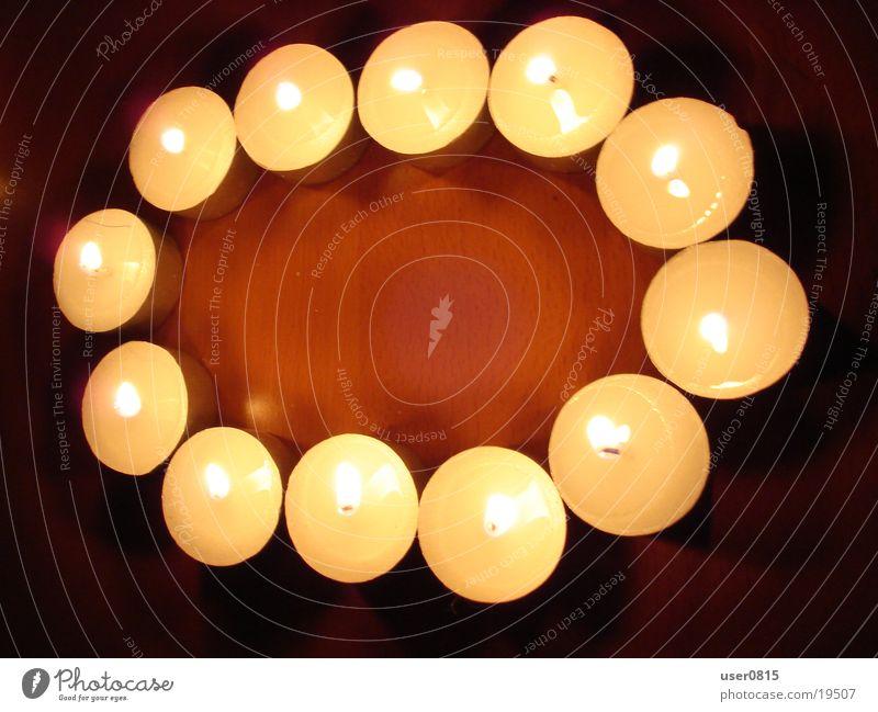 Null leer Kerze Ziffern & Zahlen Häusliches Leben Teelicht