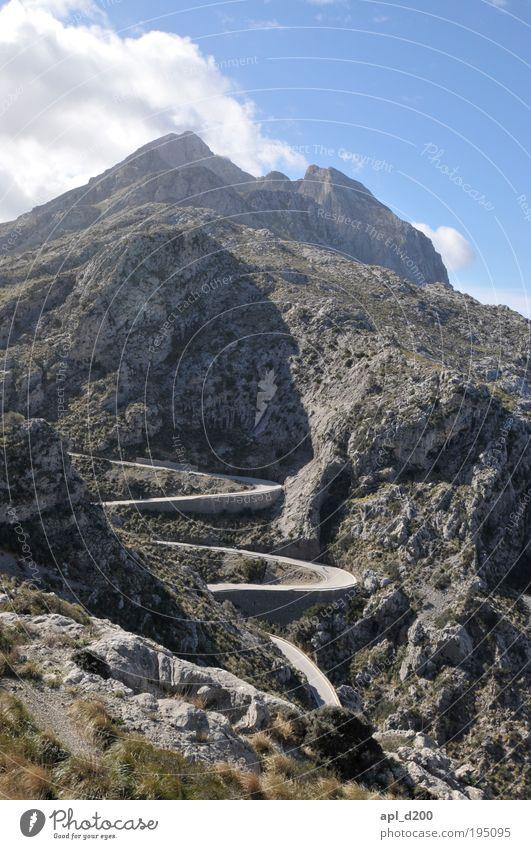 Schlangenlinien Himmel Natur alt blau grün Sonne Umwelt Landschaft Berge u. Gebirge grau Luft braun Angst Felsen Klima außergewöhnlich