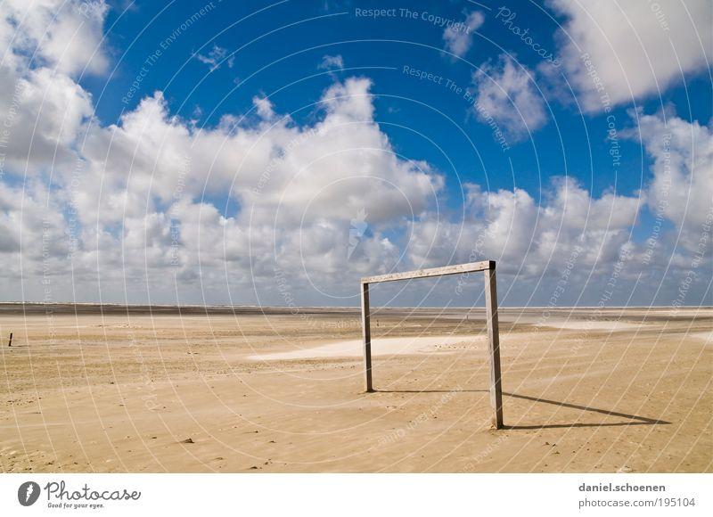 WM 2010 Himmel Sonne Meer Sommer Strand Ferien & Urlaub & Reisen Wolken Einsamkeit Ferne Erholung Küste Wind Wetter Horizont Insel Freizeit & Hobby