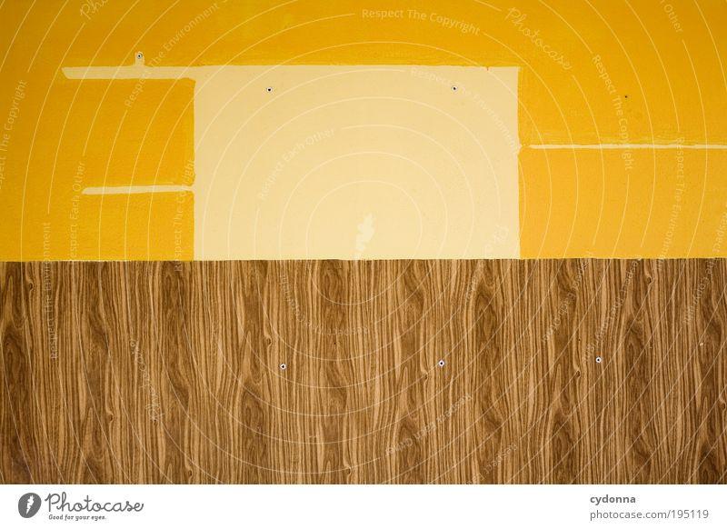 Der Sparfuchs Farbe Wand Leben Innenarchitektur Mauer Holz Zeit Raum Häusliches Leben Lifestyle Design ästhetisch Wandel & Veränderung Kreativität planen Idee