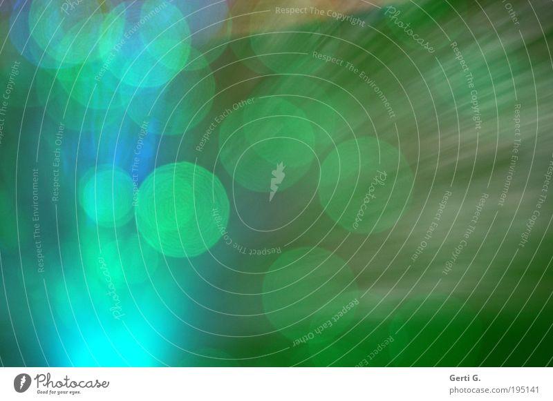LichtErScheinung Energiewirtschaft Lampenlicht leuchten Lichtpunkt türkis mehrfarbig Lichtstrahl grün strahlenförmig Punkt Farbfoto Innenaufnahme Menschenleer