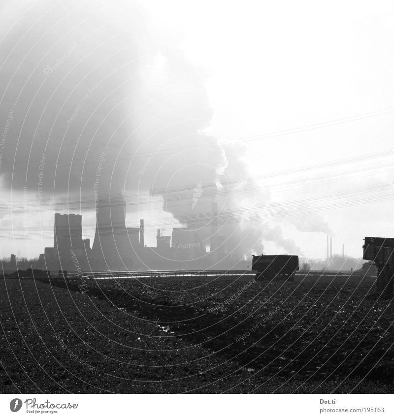 NRW Power Energiewirtschaft Kohlekraftwerk Umwelt Landschaft Erde Luft Himmel Wolken Klimawandel Feld Industrieanlage Umweltverschmutzung Elektrizität Abluft
