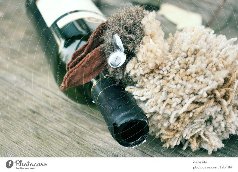 get drunk. Getränk Alkohol Wein Tier Hase Genusssucht Hemmungslosigkeit Alkoholsucht Farbfoto Außenaufnahme Nahaufnahme