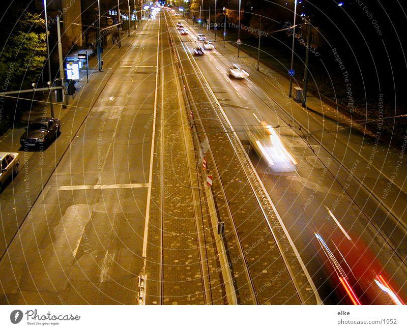 quickly Haus Straße Bewegung PKW Verkehr Geschwindigkeit fahren