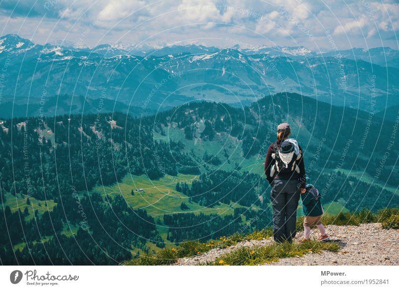 berge erklimmen Freizeit & Hobby Ferien & Urlaub & Reisen Tourismus Ausflug Abenteuer Ferne Freiheit Sommer Sommerurlaub Berge u. Gebirge wandern Mensch