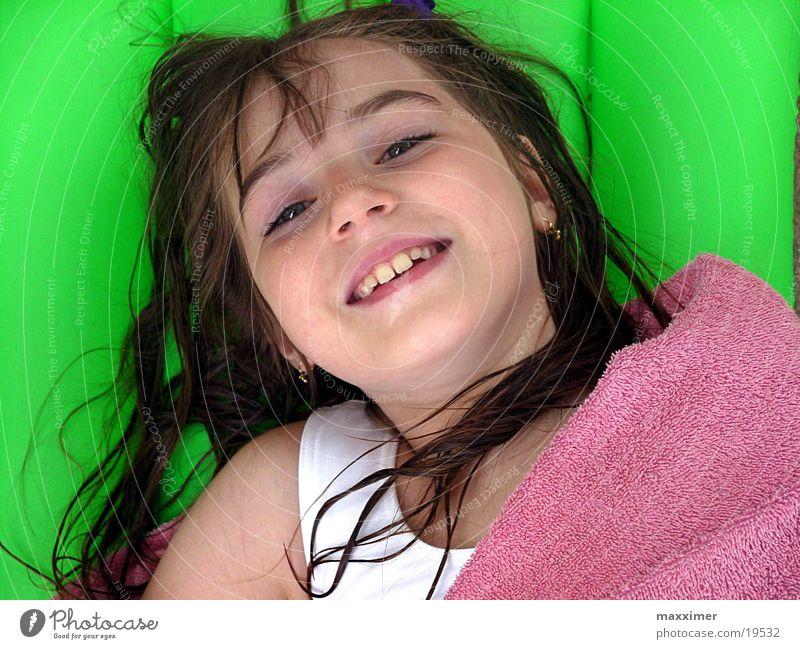 Lotta Kind Mädchen Ferien & Urlaub & Reisen lachen